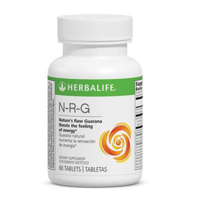 N-R-G Nature's Raw Guarana Tablets
