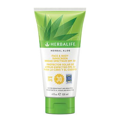 Herbal Aloe Face & Body Sunscreen Broad SpectrumSPF 30